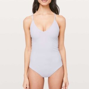 Weave The Waves Size 10 Lululemon One Piece Suit